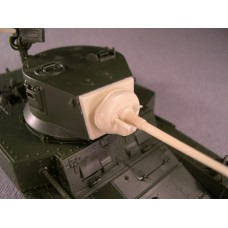 F034 - Gun Mantlet and Turret Front for AcademyItaleri M3A1 Stuart