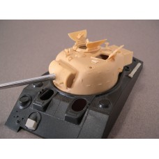 F022 - Late Low Bustle Sherman Firefly Turret