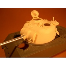 F097 - Late High Bustle 75mm Sherman Turret