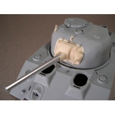 F113 75mm Sherman M34 Gun Mount with Metal Barrel