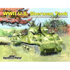 WWII U.S. Sherman Tank in Action - Armor No. 48
